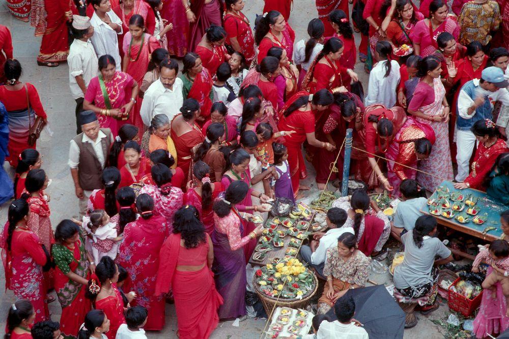 Fest der Frauen (Kathmandu)